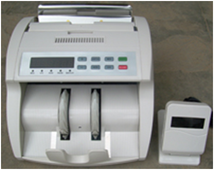 CURRENCY COUNTING MACHINE WITH FAKE NOTE DETECTOR Model 1009