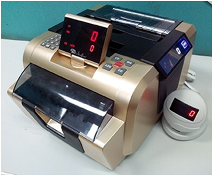 CURRENCY COUNTING MACHINE (WITH FAKE NOTE DETECTOR)
